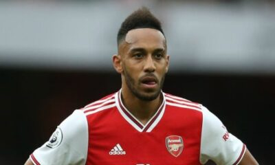 EPL: Aubameyang To Be Investigated For Breaching COVID-19 Protocols